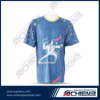 Sporting T shirt wear with fully sublimation printing