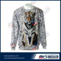 Sublimation sports hoodie sweater