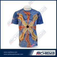 Full sublimation fashion t-shirt