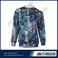 Sublimatiom customized polyester sweatshirts