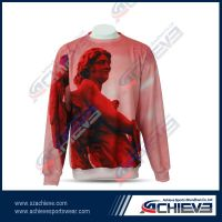 100%polyester sublimated printing hoodies