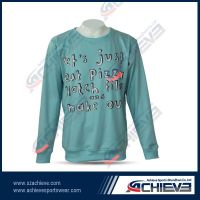 Customized all over printing sweaters