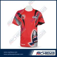 Hot selling fashion sublimation sporting t shirts for men