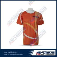 High quality sublimation T shirt with your own design