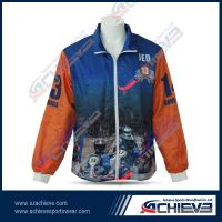 high quality  sublimation jacket for team