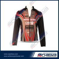 sublimation sports long sleeves jackets