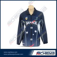 Custom sublimation jacket with 100% polyester