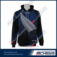 full custom sublimated pullover hoodie
