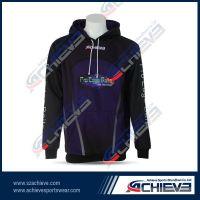 Sublimation Fleece Windproof hoodies