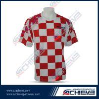Sublimation good quality football jerseys