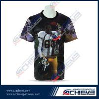 Full sublimation 100%polyester custom made soccer shorts