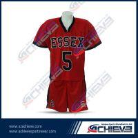 Fashion design custom football wear with full sublimation printing