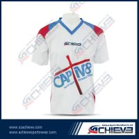 Sublimation polyester soccer uniforms