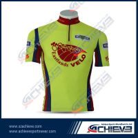 Sublimate printing polyester cycling wear