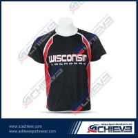 Sublimation 100% polyester soccer jersey