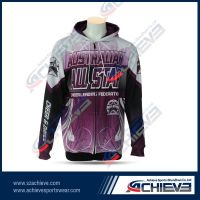 Hot selling sublimation fleece hoodies with custom made design