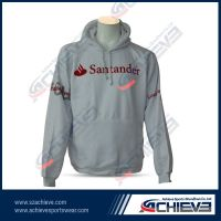 100%polyester sublimation pull over hoody with your own design