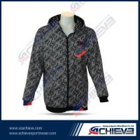 Sublimation 100%polyester hoodie wear