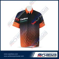 Custom breathable sublimated motor jersey