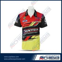 2014 Hot Selling  colorful sublimated polo shirt