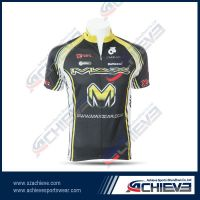 Professional cycling wear with custom design fully sublimation