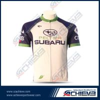 High quality sublimated cycling bodysuit with your own design