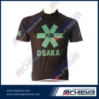 Sublimated custom wholesale cycling jersey with cheap price
