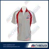 Top quality sublimation Polo Shirts