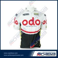2013 Newest Sublimation Cycling Jersey With 100%Polyester