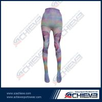 2013 new ankle tight leggings with full sublimation printing