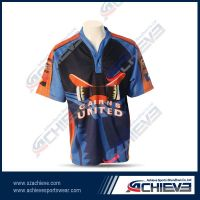 100%polyester rugby uniform with full sublimated printing