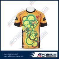 Custom design tight fit rugby jerseys for men/women