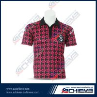 Dry sublimation fadeless polo T shirts