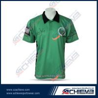 Mesh fabric breathable polo jersey