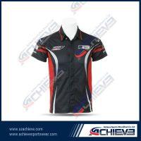 Fully sublimate printing racing shirts
