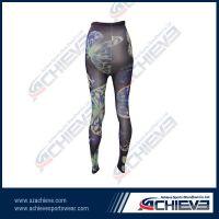 Autumn ladies sublimation polyester leggings