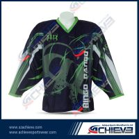 custom sublimated ice hockey jersey