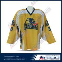 Sublimation Polyester Ice Hockey Shirts