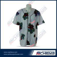 Comfortable customized 100%polyester baseball wear