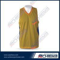 Ladies' basketball jersey with customized design fully sublimation