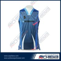 Comfortable breathable basketball jersey for player