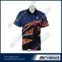 100%polyester sublimate printing motorcycling jerseys