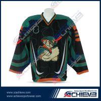 2013 custom sublimation ice hockey jersey