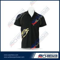 racing wear sportswear sublimation racing shirt
