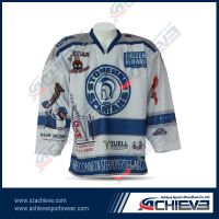 Customized professional ice hockey wear for player
