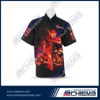 Custom sublimation motorcycling jersey