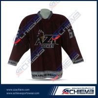 High quality sublimation ice hockey jerseys