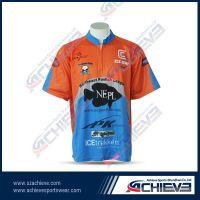 Custom racing shirt wholesale