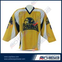 High quality custom sublimation ice hockey uniform