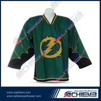 Design sublimation ice hockey uniform